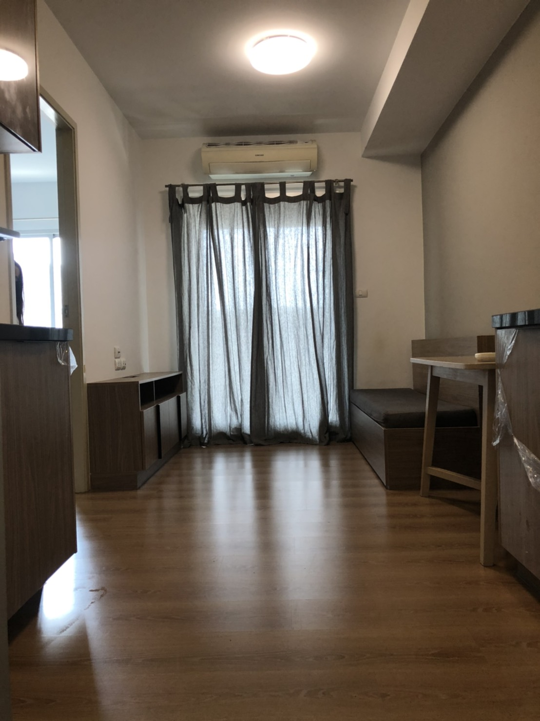 For RentCondoKasetsart, Ratchayothin : Condo for rent at cheap price, close to Kasetsart University fence Ready to move in immediately