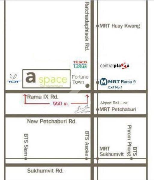 ขายคอนโดพระราม 9 เพชรบุรีตัดใหม่ : 💥ขายขาดทุนด่วน** คอนโด A-Space ตึกE ชั้น4 เจ้าของขายเอง LineID: Jet987