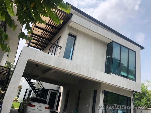 For SaleHouseNawamin, Ramindra : ขายบ้านเดี่ยว2ชั้น ซอยรามอินทรา23พร้อมOffice Style Loft ใกล้รถไฟฟ้าสายสีชมพูสถานีลาดปลาเค้า