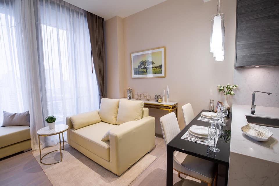 For RentCondoSukhumvit, Asoke, Thonglor : M2539-Condo The Esse Asoke for rent with full facilities.