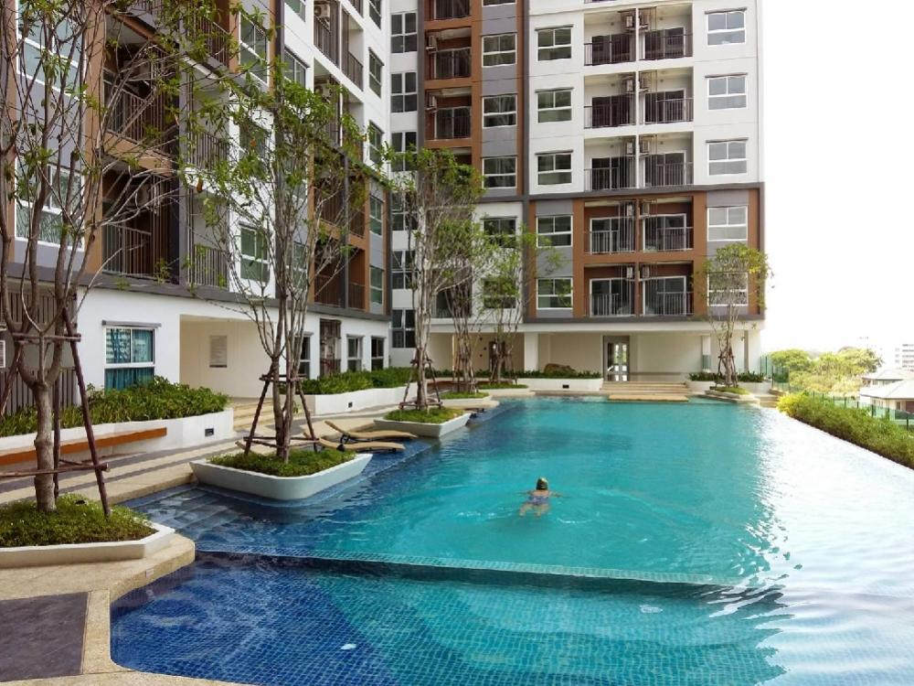 For SaleCondoRattanathibet, Sanambinna : Sell The Trust condominium Ngamwongwan Price for rent 7,500 baht to 8,000 baht ✔yield 5.5% -6% Higher investment interest than the room deposit has not been released. The owner is moving out because of work. ✔ Suitable for investors who want money to work