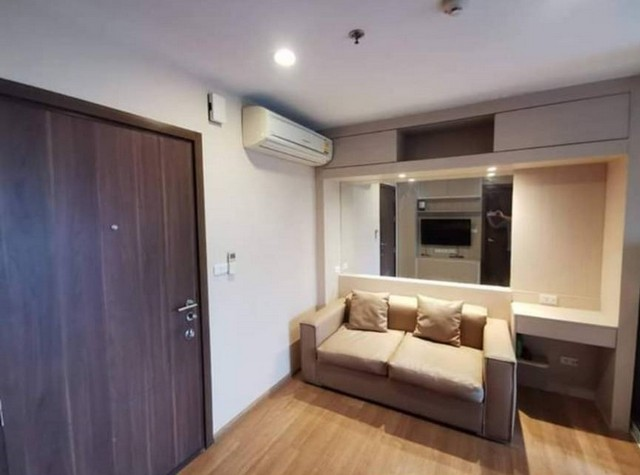 For SaleCondoOnnut, Udomsuk : AE0225 Condo for sale, The Base Sukhumvit 77, size 30 sq m, 9th floor, Building B, Built in Fully furnished room