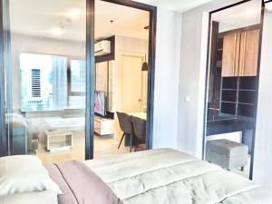 For RentCondoRama9, RCA, Petchaburi : Life Asoke Life Asoke, beautiful room, big, inexpensive for rent. 1 bedroom 35 sq.m.