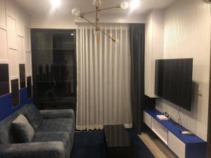 เช่าคอนโดพระราม 9 เพชรบุรีตัดใหม่ : ปล่อยเช่า คอนโด Ideo Mobi Asoke ขนาด 1 ห้องนอน 34 ตรม.  แต่งครบ ชั้น 12 ตำแหน่งดีที่สุด วิวไม่บล๊อค
