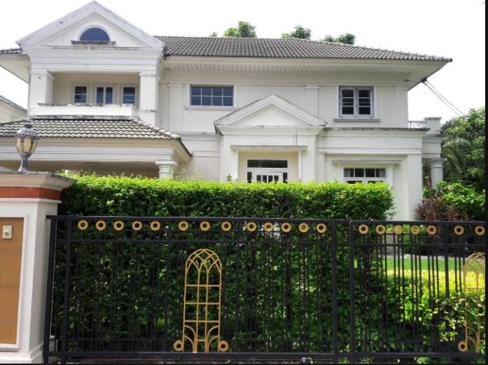 For RentHouseRamkhamhaeng,Min Buri, Romklao : RH356 House for rent 105 sqw, 3 bedrooms, 3 bathrooms, Perfect Place Village, near Ruamrudee International School, only 200 meters, Ram 164