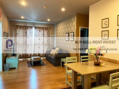 เช่าคอนโดวงเวียนใหญ่ เจริญนคร : Condo For rent! Hive Sathorn @BTS Krungthonburi 2 br. 70 sqm. 12th fl. Ready to Move in 25,000 baht/Month