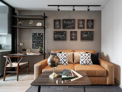 ขายคอนโดสุขุมวิท อโศก ทองหล่อ : Rhythm ekamai 1 ห้องนอน 35 ตรมครัวปิด Layout นี้มีเพียงชั้นละ 1 ห้อง เท่านั้น!!