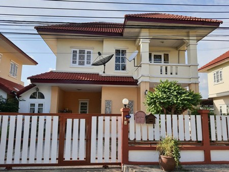 For SaleHouseBangbuathong, Sainoi : House for sale, 2 floors, 3 bedrooms, 2 bathrooms, M. Lapa Wan 14, Bang Bua Thong Subdistrict, Bang Bua Thong District, Nonthaburi
