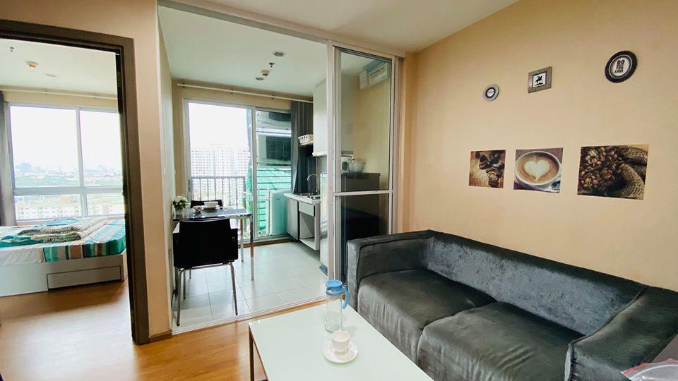 For RentCondoOnnut, Udomsuk : For rent The Base Sukhumvit 77 The Base Sukhumvit 77 High floor 1 bedroom