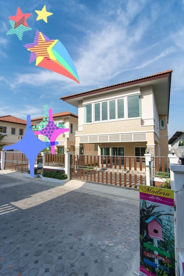 For SaleHousePinklao, Charansanitwong : House for sale, The Private Village Project (Suan Phak 50) - 3 bedrooms, 3 bathrooms, 81 sq.m .. / 6.9 million baht, please contact 0932181290 Khun Kae