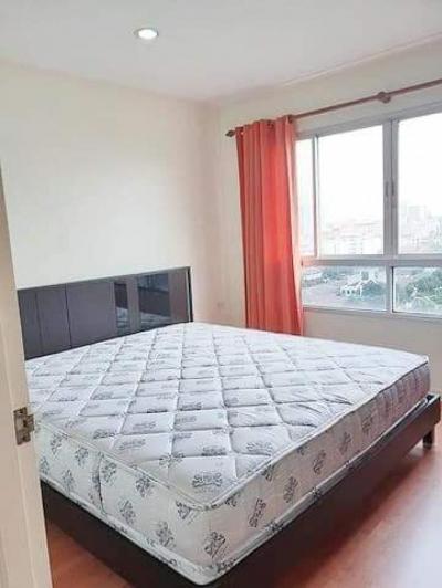 For RentCondoRamkhamhaeng, Hua Mak : ⚡ For rent, Lumpini Ville Ramkhamhaeng 44, 35 sqm, fully furnished and electric appliances ⚡