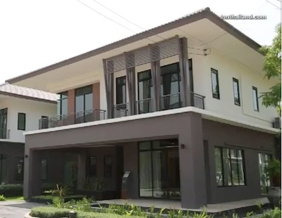 For SaleHouseSamrong, Samut Prakan : House for Sale, Biggest Size (Corner), Bangna Kingkaew