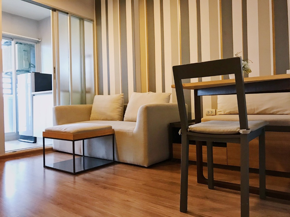 For SaleCondoRamkhamhaeng, Hua Mak : Sell very cheap !! Condo U Delight Hua Mak (U delight @ huamak) beautiful room, fully furnished, cheap price !!!