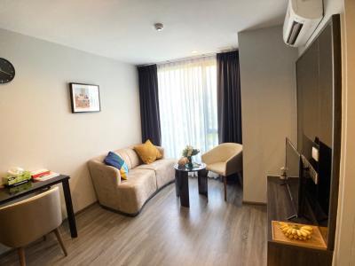 เช่าคอนโดสุขุมวิท อโศก ทองหล่อ : CONDO FOR RENT!!! IDEO MOBI Sukhumvit 40 1Bedroom 35Sq.m (Full Commission)