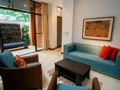 For RentTownhouseSukhumvit, Asoke, Thonglor : Townhome 3 stories at Raintree Village Soi Sukhumvit 41  for rent