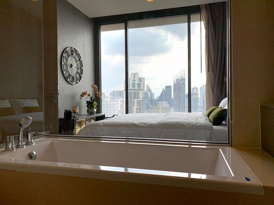 For SaleCondoSukhumvit, Asoke, Thonglor : For sale: The Esse asoke 1, beautiful bedroom, high floor, very cheap sale