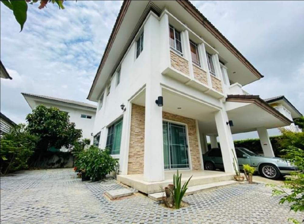 For RentHouseBangna, Lasalle, Bearing : House for rent in Manthana 2 (Ring Road-Onnut)