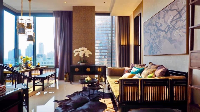 For RentCondoSilom, Saladaeng, Bangrak : ให้เช่า ห้องสวยพร้อมอยู่ 2 ห้องนอน 86ตรม. ห้องมุม ASHTON SILOM โทร.062-339-3663