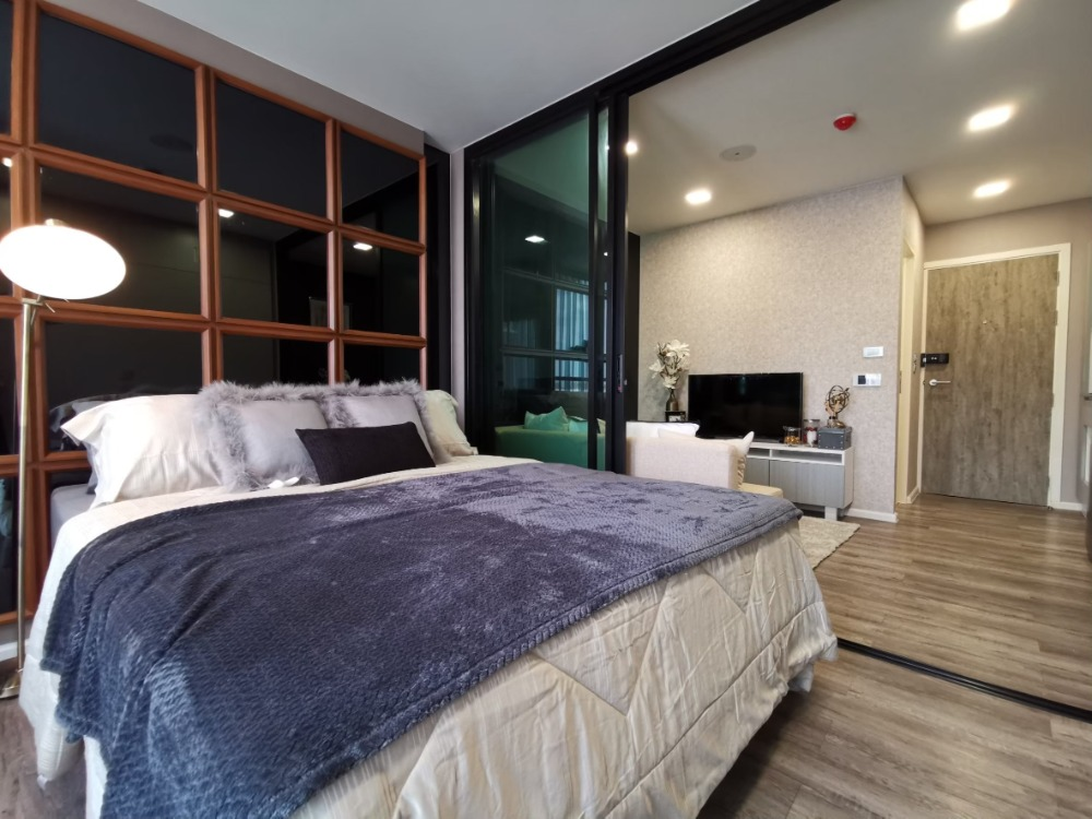For SaleCondoVipawadee, Don Mueang, Lak Si : Condo for sale, Ready to move in Modiz Station, near BTS Phahon Yothin Station 59, 1 bedroom, high floor, facing south, good wind price 2,568,800 baht