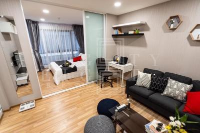 เช่าคอนโดอ่อนนุช อุดมสุข : For Rent Green Ville Sukhumvit 101 (33 sqm.)