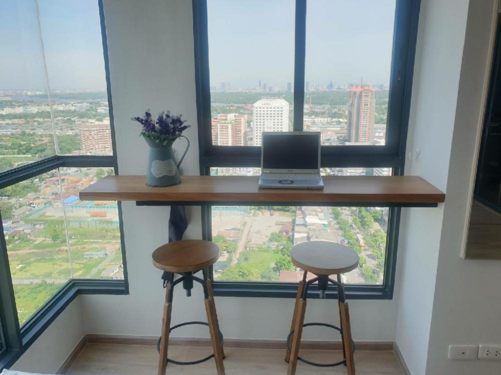เช่าคอนโดบางนา แบริ่ง : (Owner post) ให้เช่า Ideo O2 53 ตร.ม. ชั้น 34 อาคาร A ห้องใหม่ ตบแต่งครบ วิวดีมากๆ