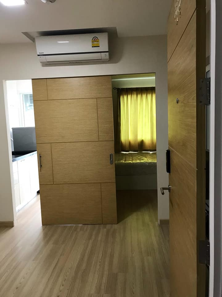 For RentCondoRatchadapisek, Huaikwang, Suttisan : Condo for rent, The Maple at Ratchada 19, good view, no block, nice room ready to move in