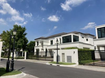 For RentHousePattanakan, Srinakarin : 2 storey detached house for rent, Baan Sansiri Pattanakarn Super Luxury, Pattanakarn area, close to expressway and airport