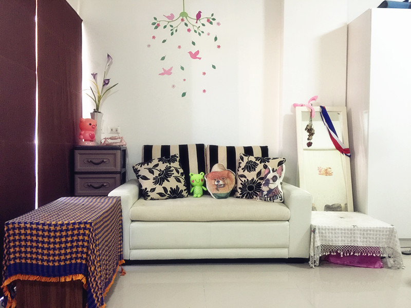 For RentCondoPinklao, Charansanitwong : [With photo] Loft River Residence for rent, near Yanhee Ekkaphor Phor., 5th floor, 32 sq.m., fully furnished.