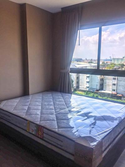 เช่าคอนโดบางนา แบริ่ง : ให้เช่า **ห้องใหม่สวย เฟอร์+ไฟฟ้าครบ พร้อมอยู่ คอนโด วิลล่า ลาซาล ซ.18 ใกล้  BTS แบริ่ง**