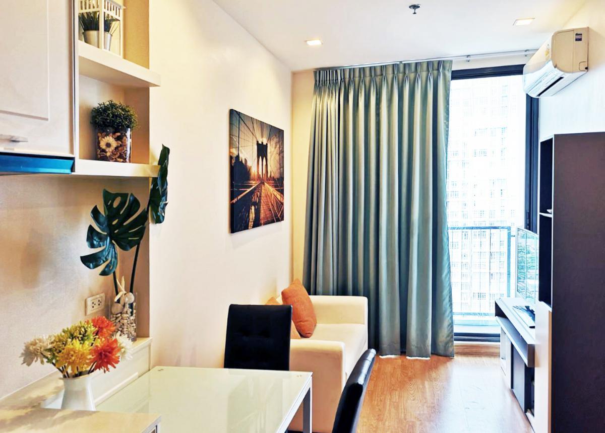 ขายคอนโดอ่อนนุช อุดมสุข : ขาย คอนโด Q House 79 ขนาด 30.5 ตร.ม. ชั้น 19