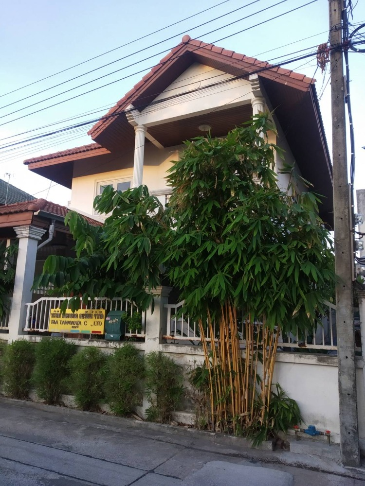 For SaleHouseOnnut, Udomsuk : H220-Single house for sale Soi Onnut 39, 53 sq.m., 3 bedrooms, 3 bathrooms, with parking