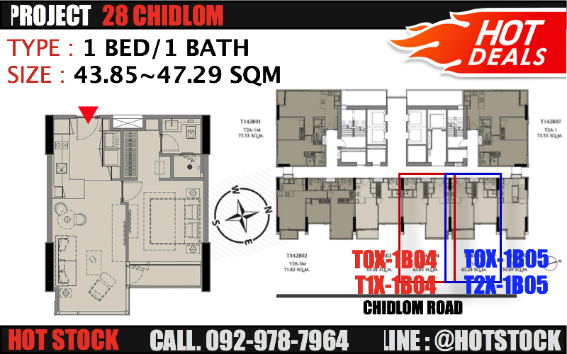 For SaleCondoWitthayu,Ploenchit  ,Langsuan : Cheaper, no more. 1 bedroom, size 43 ~ 47 sqm - 28 Chidlom (Twenty Eight Chidlom), reduced more than 27%. Great location, great value, promotion room only 279, xxx baht / sqm. Ultimate Luxuaries Urgent Sale! Only irony during this Covid period! Urgent fir