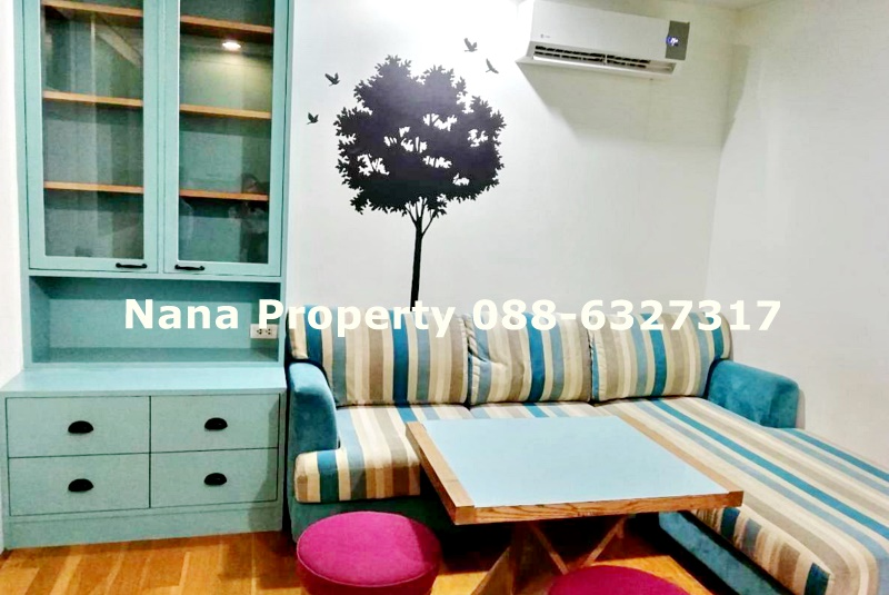 For RentCondoLadprao, Central Ladprao : Condo for rent, Abstracts Phahonyothin Park, fully furnished Opposite Central Ladprao