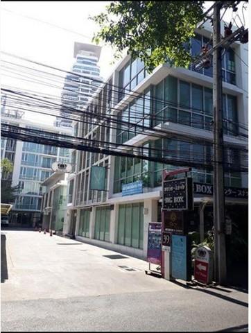 เช่าตึกแถว อาคารพาณิชย์พุทธมณฑล ศาลายา : ให้เช่าพื้นที่ชั้น1 ซอยสุขุมวิท39ใกล้BTSพร้อมพงษ์ เหมาะเปิดคลินิก ร้านกาแฟ โชว์รูม