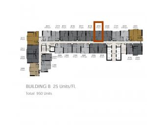 Sale DownCondoRama9, RCA, Petchaburi : Selling the cheapest!! Life Asoke Rama 9 1bed 32sqm 3.99mb only !! 25+ up