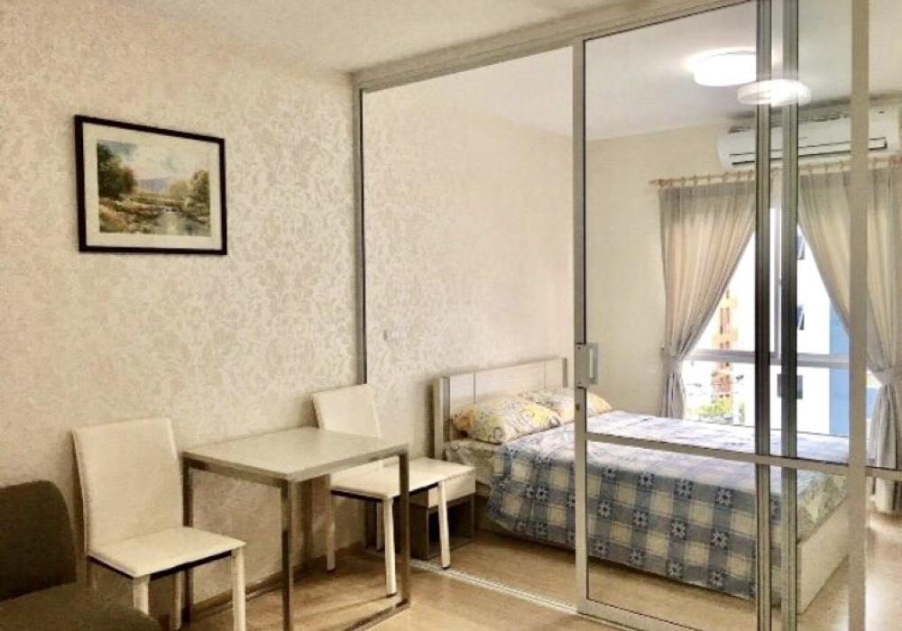 For RentCondoPinklao, Charansanitwong : BL5616 Condo for rent at Unio Charan 3 (with washing machine), Building A, Floor 5, size 28 sq.m.