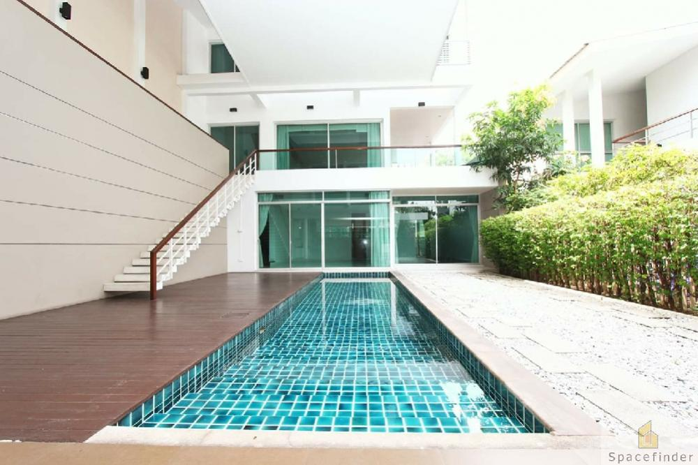 For RentHouseSukhumvit, Asoke, Thonglor : Pet Friendly Modern House for Rent 140,000 Baht/monthClose to Emporium