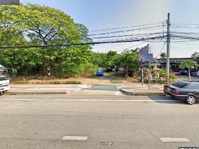 ขายที่ดินพุทธมณฑล ศาลายา : P ขายที่ดิน ริมถ.บรมราชชนนี 3ไร่กว่า ทำเลดีมาก ติด ถนนบรมราชชนนี