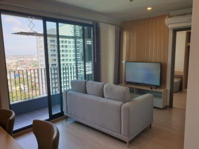 For RentCondoBangna, Lasalle, Bearing : For Rent !! IDEO O2 new condo unit, near BTS Bang Na