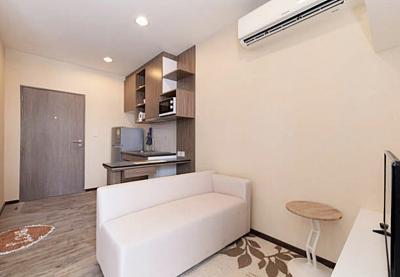 For RentCondoPattaya, Bangsaen, Chonburi : For Rent TreeTops Pattaya Condo @Pattaya Tai Beach, Studio-1 Bedroom 6th floor Nice View, Fully furnished