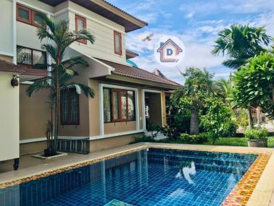 For SaleHouseRangsit, Patumtani : 2 storey detached house for sale, Soi Iiyara 6/5, Khlong Song, Khlong Luang