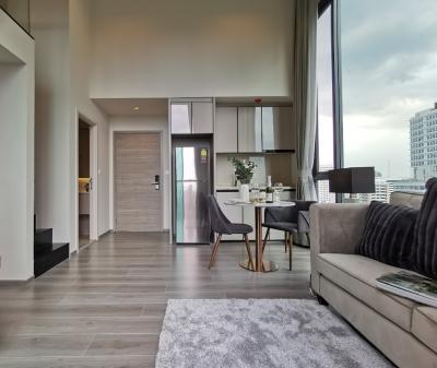 เช่าคอนโดสะพานควาย จตุจักร : ให้เช่า (For Rent) The Reserve Pradipat 1Br.plus (ทำเป็น 2 ห้องนอนได้) ห้องมุม วิว 2 ด้าน ตกแต่งสวย