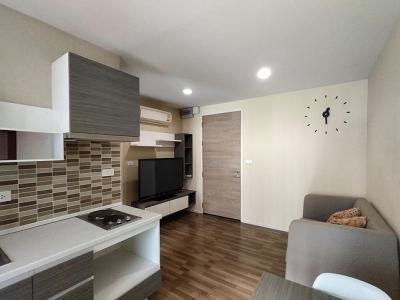 เช่าคอนโดรามคำแหง หัวหมาก : For Rent -Living Nest Condominium Ramkhamhaeng ห้องสวย ห้องมุม ฟรีบัตร BTS/MTR มูลค่า 1,000 ทันที