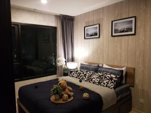For RentCondoRama9, RCA, Petchaburi : 1 bed at this price, book now 🔥🔥 Life Asoke 1 bed, beautiful decoration, built-in, full room, ready to move in 095-249-7892 / 082-459-4297