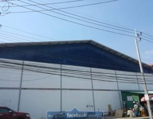 For RentWarehouseSamrong, Samut Prakan : Warehouse for rent on Theparak Rd. 25 km. Near Bangplee Industrial Estate