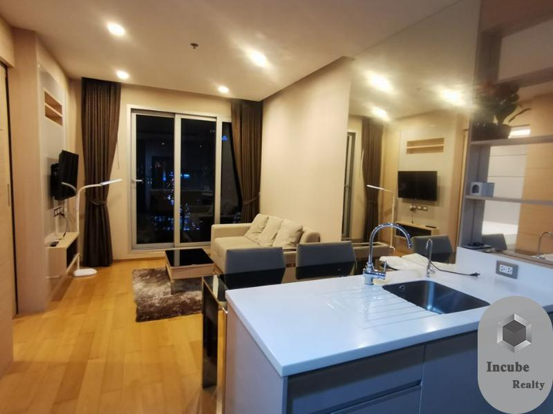 For RentCondoRama9, RCA, Petchaburi : P12CR2007006 Rent The Address Asoke 1 Bed 20,000