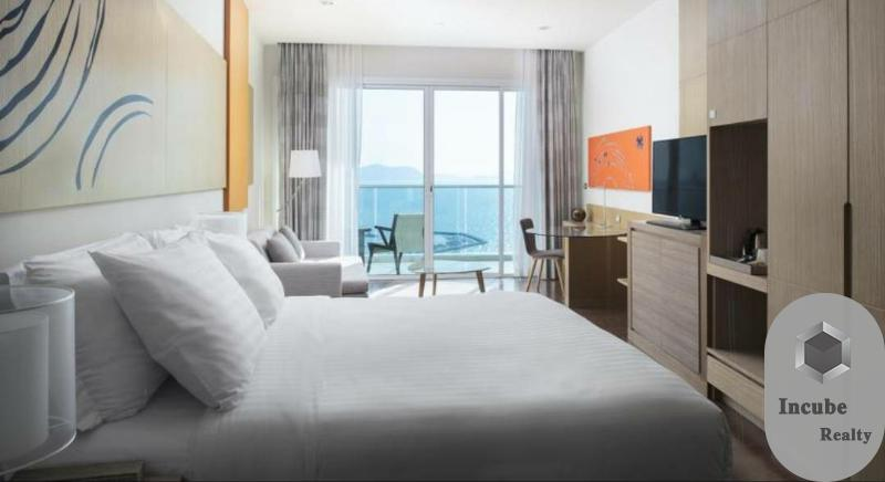 เช่าคอนโดพัทยา บางแสน ชลบุรี : P89CR2006013 Rent Movenpick White Sand Beach Studio 28,000