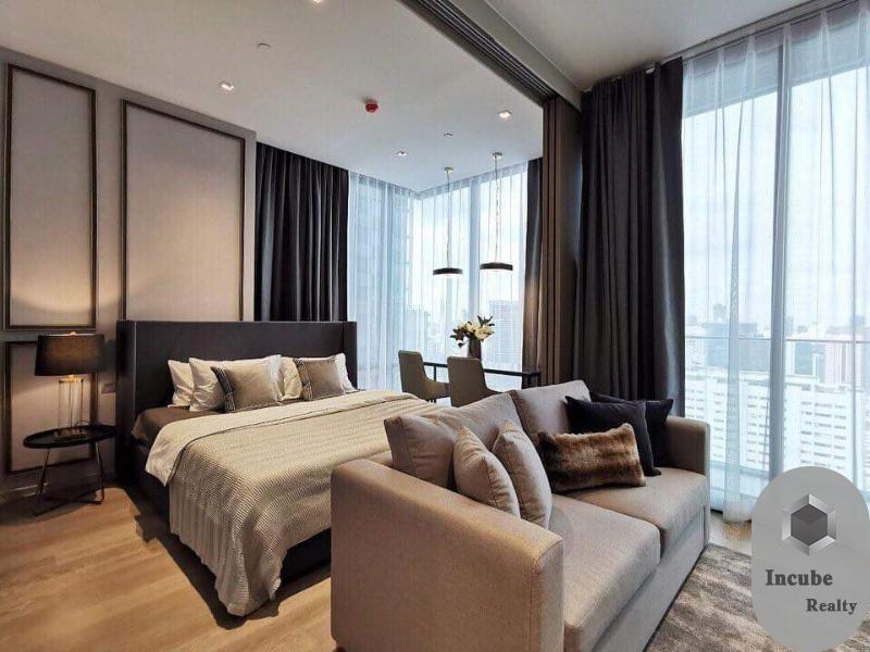 For RentCondoSilom, Saladaeng, Bangrak : P17CR2006083 Rent Ashton Silom 1 Bed 35,000