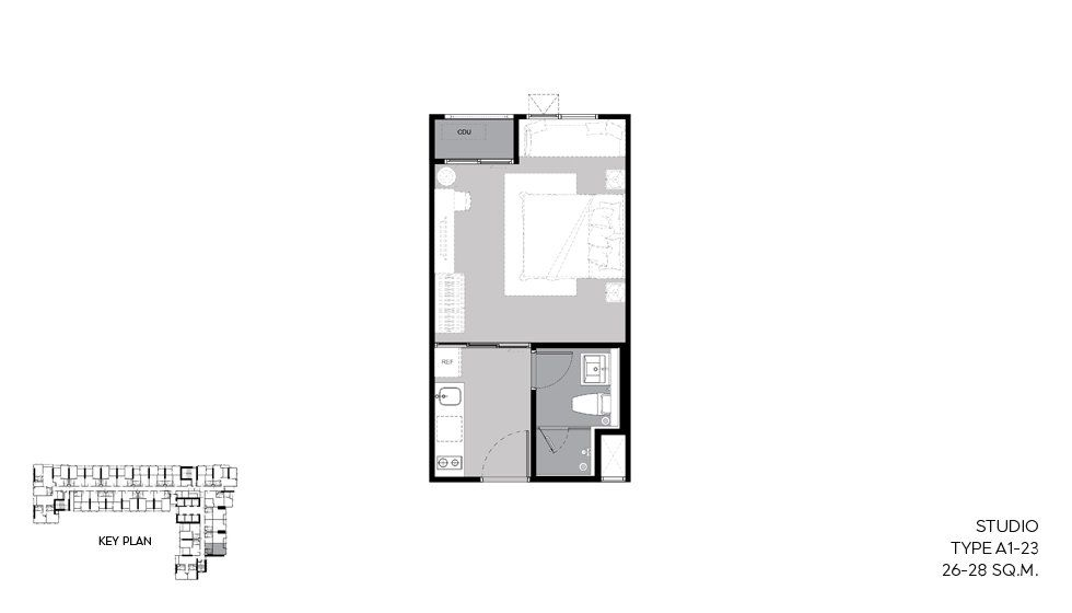 For SaleCondoLadprao, Central Ladprao : รีบ️ Hurry and release ⛔️ sell for a loss !!! Studio, high floor, unblocked view, Life Ladprao ♨️