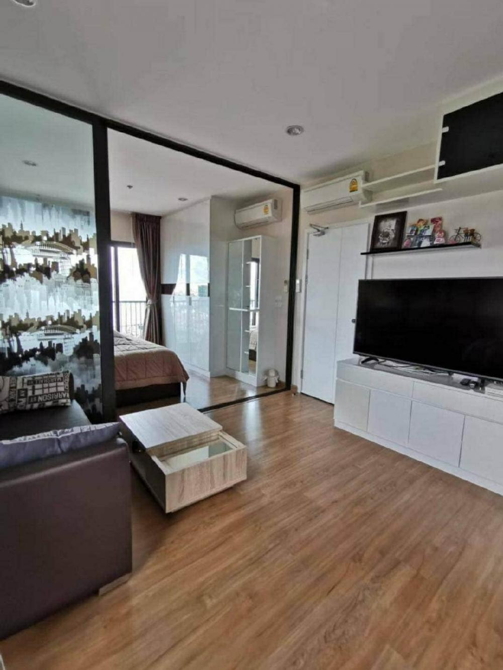 For RentCondoPinklao, Charansanitwong : #The Tree Rio condo for rent, Bang Aor Station, great value, with washing machine